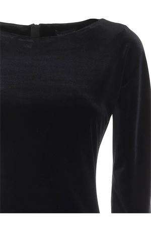 VELVET DRESS IN BLACK PAOLO FIORILLO CAPRI | 11 | 0971LE289412