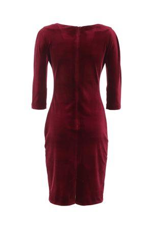VELVET DRESS IN BURGUNDY COLOR PAOLO FIORILLO CAPRI | 11 | 0971LE289465