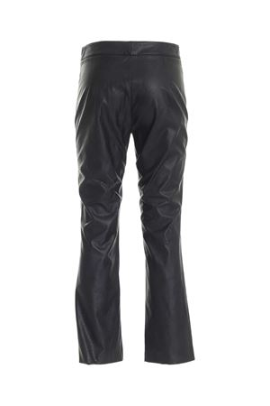 SYNTHETIC LEATHER PANTS IN BLACK PAOLO FIORILLO CAPRI | 20000005 | 10151274209