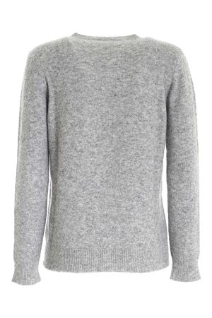 STRETCH PULLOVER IN MELANGE GREY PAOLO FIORILLO CAPRI | -1384759495 | 16470100029