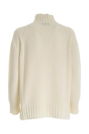 HIGH NECK PULLOVER IN WHITE PAOLO FIORILLO CAPRI | -1384759495 | 17100500009