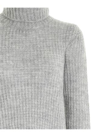 MICRO BEADS TURTLENECK IN GREY PAOLO FIORILLO CAPRI | 10000016 | 17420500029