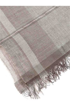 FRINGED EDGES FOULARD IN BEIGE PAOLO FIORILLO CAPRI | 77 | 19012400011