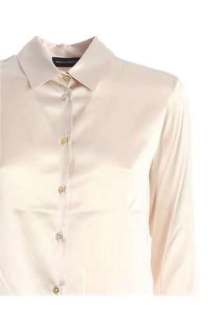 SILK SHIRT IN IVORY COLOR PAOLO FIORILLO CAPRI | 6 | 23332094905