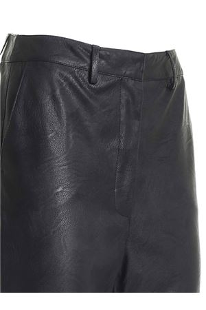 SYNTHETIC LEATHER PANTS IN BLACK PAOLO FIORILLO CAPRI | 20000005 | 25252742NERO