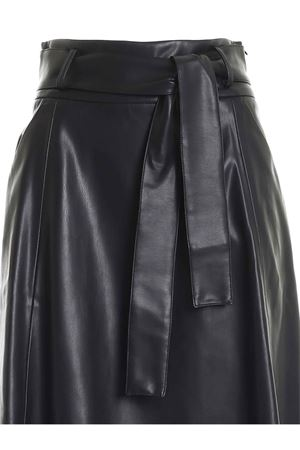 BELT SKIRT IN BLACK PAOLO FIORILLO CAPRI | 15 | 2787304499