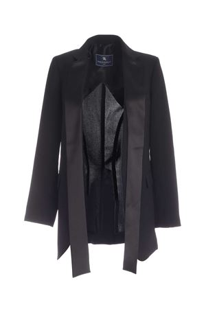 DOUBLE-BREASTED JACKET IN BLACK PAOLO FIORILLO CAPRI | 3 | 30662531019