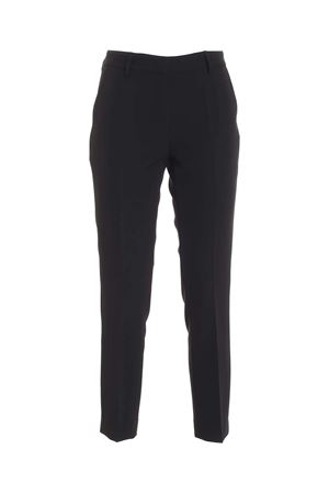 SLASH SIDE POCKETS PANTS IN BLACK PAOLO FIORILLO CAPRI | 20000005 | 30712307019
