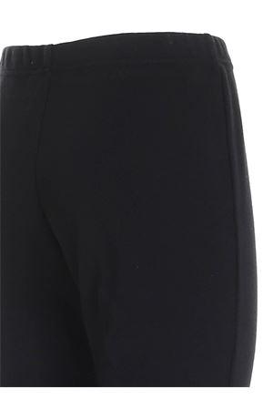 RIBBED PANTS IN BLACK PAOLO FIORILLO CAPRI | 20000005 | 5722414454099