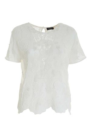 EMBROIDERY BLOUSE IN WHITE
