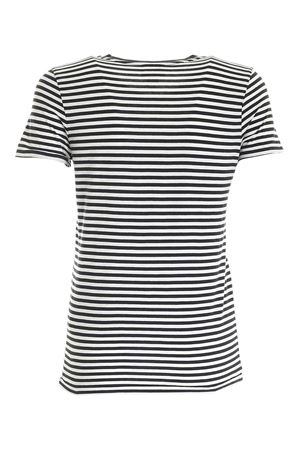 STRIPED T-SHIRT IN BLACK AND WHITE POLO RALPH LAUREN | 8 | 211800451001