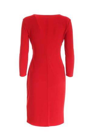 CROSSOVER V-NECK DRESS IN RED POLO RALPH LAUREN | 11 | 250768183018