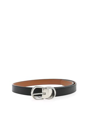 BUCKLE BELT IN BLACK POLO RALPH LAUREN | 22 | 412814333001