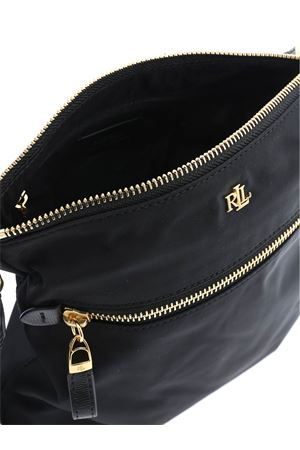 GOLDEN ZIP SHOULDER BAG IN BLACK POLO RALPH LAUREN | 70000001 | 431803938001