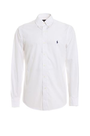 CAMICIA BIANCA BUTTON DOWN 710705269002 POLO RALPH LAUREN | 6 | 710705269002
