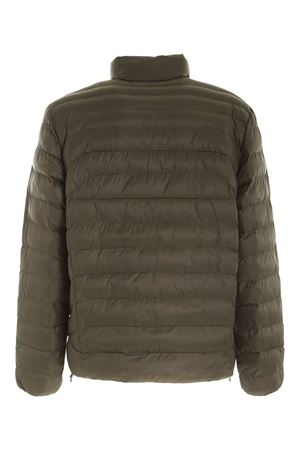 QUILTED PUFFER JACKET IN GREEN