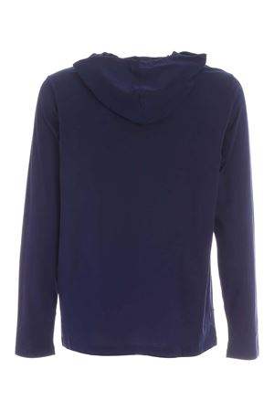 HOODED T-SHIRT IN BLUE POLO RALPH LAUREN | 7 | 714706765002