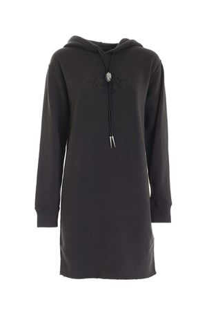 TONE-ON-TONE EMBROIDERY DRESS IN DARK GREY POLO RALPH LAUREN | 11 | 211800464001