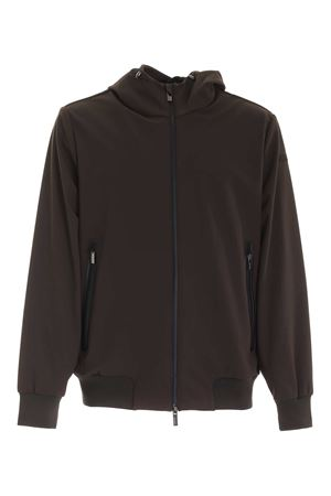 THERMO BONDED JACKET IN BROWN RRD | 13 | W2004621