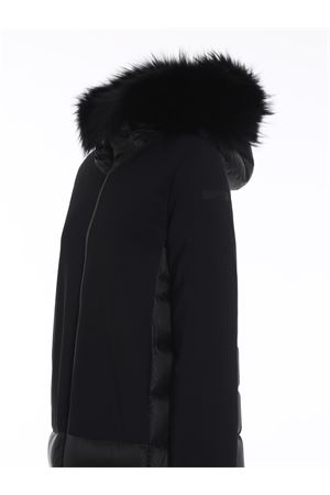 PIUMINO WINTER HYBRID PARKA LADY FUR NERO W20515FT10 RRD | 18 | W20515FT10