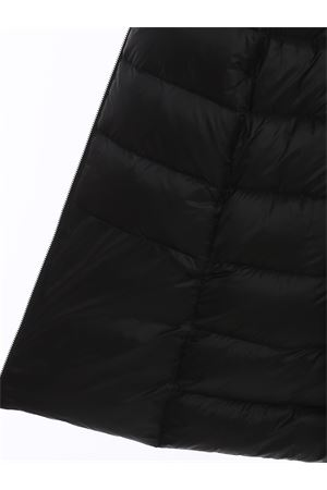 WINTER HYBRID PARKA LADY FUR PUFFER JACKET IN BLACK RRD | 18 | W20515FT10