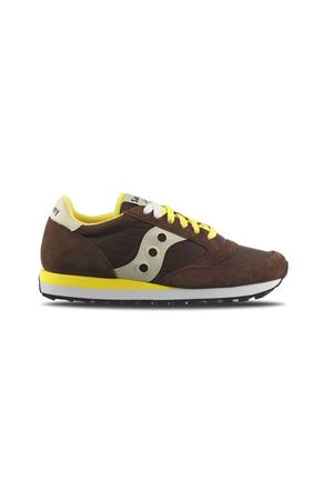 JAZZ ORIGINAL BROWN/JELLOW SAUCONY | 5032238 | 2044416