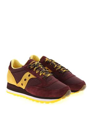 JAZZ TRIPLE SNEAKERS IN WINE COLOR