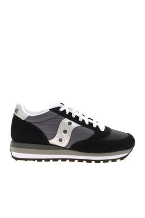 JAZZ TRIPLE SNEAKERS IN BLACK AND GREY SAUCONY | 5032238 | 705306