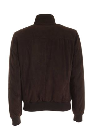 LEATHER JACKET IN BROWN STEWART | 3 | GODU180SPV06SZF00082