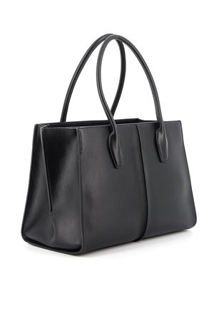 SHOULDER BAG IN LIGHT BLACK TOD