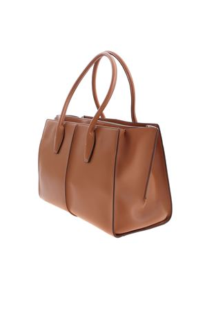 SHOULDER BAG IN LIGHT BROWN TOD