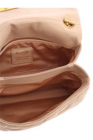 LOGO SHOULDER BAG IN PINK TOD