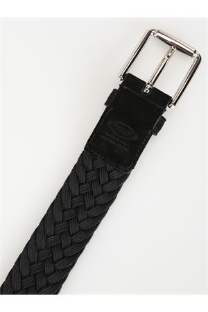 BLACK BELT IN SUEDE TOD