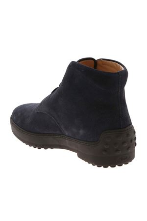 DESERT WINTER SHOES IN BLUE TOD