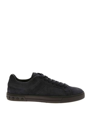 SUEDE SNEAKERS IN DARK BLUE TOD