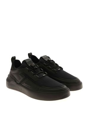 DRAWSTRING SNEAKERS IN BLACK TOD