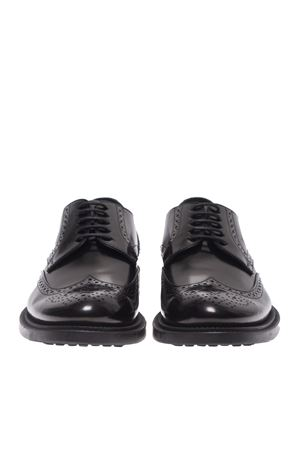 BROGUES DERBY SHOES IN BLACK TOD