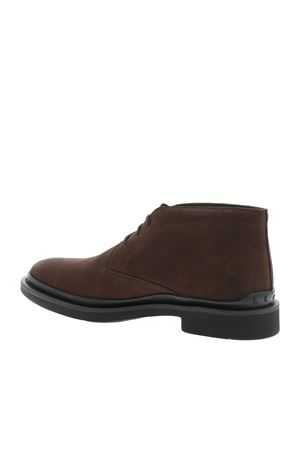 DERBY IN BROWN SUEDE TOD