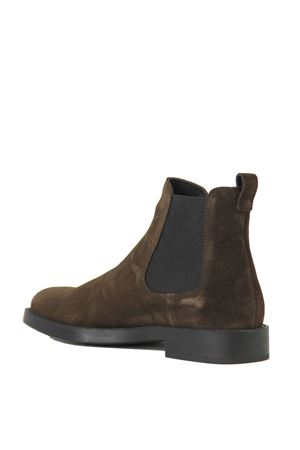 SUEDE LEATHER CHELSEA BOOTS IN BROWN TOD