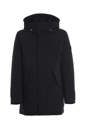 STRETCH MOUNTAIN PARKA IN BLACK WOOLRICH | 10000013 | CFWOOU0268MRUT0102100