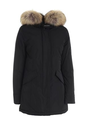 LUXURY ARTIC PARKA DOWN JACKET IN BLACK