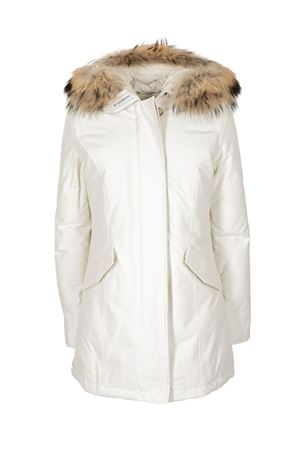 ARTIC PARKA DOWN JACKET IN WHITE WOOLRICH | 10000013 | CFWWOU0299FRUT0001WSN
