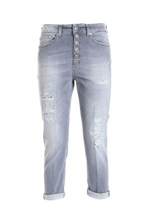 KOONS GIOIELLO JEANS IN GREY DONDUP | 24 | DP268BDSE288DBZ9DD900