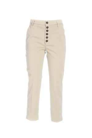 NIMA PANTS IN SAND COLOR DONDUP | 20000005 | DP576RS0041DPTDDD010