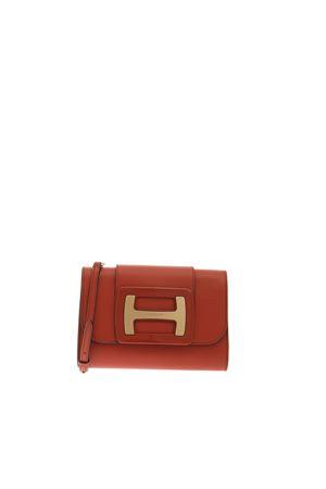 CLUTCH H-BAG ORANGE HOGAN CAPSULE | 62 | GCW01MD0100O6RG809