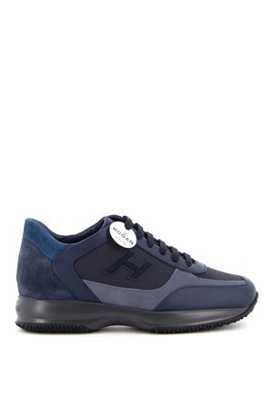 INTERACTIVE LEATHER AND SUEDE SNEAKERS HOGAN | 120000001 | HXM00N0Q101QBW8P32