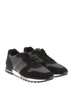 Sneakers H383 Nero, Grigio HXM3830AN51QDO938U HOGAN   120000001   HXM3830AN51QDO938U