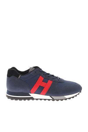 H383 BLUE SNEAKERS HOGAN | 120000001 | HXM3830AN51QDO938V