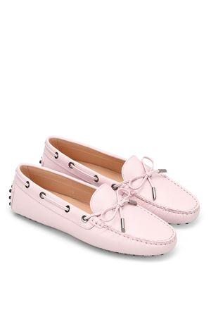 Heaven Laccetto saffiano loafers TOD