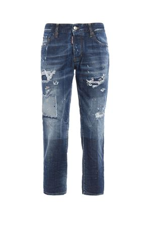 Boyfriend crop jeans DSQUARED2 | 24 | S75LA0887S30144470